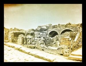 Pompeii, Campania, Italy, Vesuvius