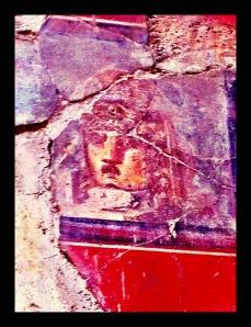 Pompeii, Medusa, Frescoes, Italy, Campania