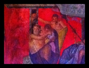 Villa of Mysteries, Villa dei Misteri, Affreschi, Frescoes, Pompeii, Italy, Campania