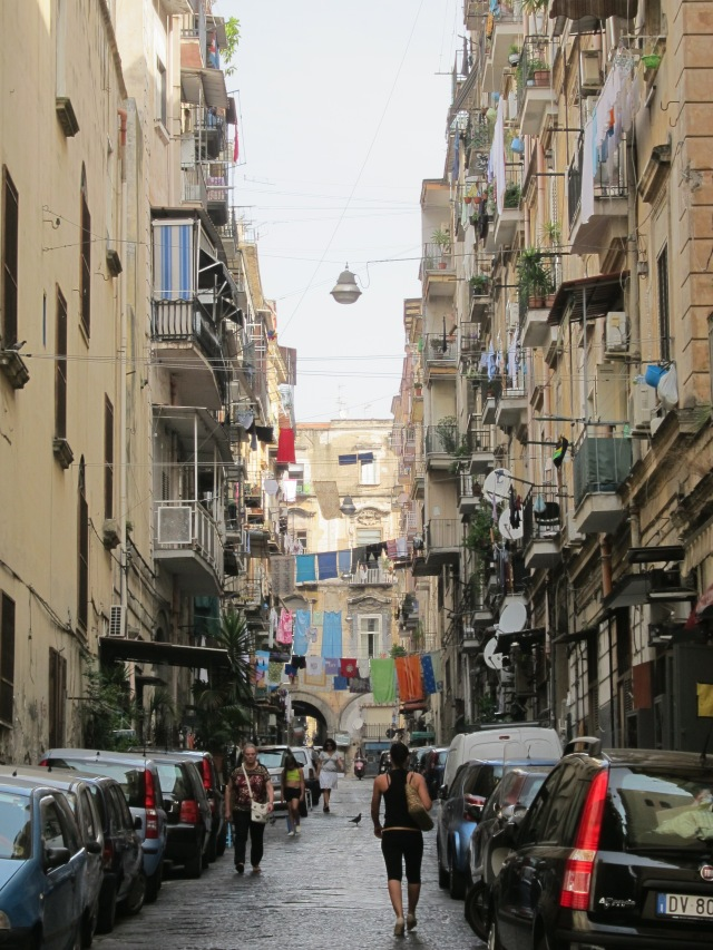 Napoli, Historic City Center, Campania, Italy, Streets