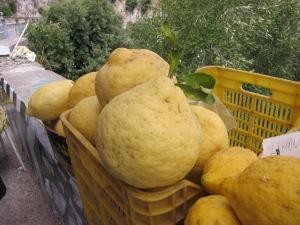 Lemons, Sorrento, Amalfi Coast, Italy
