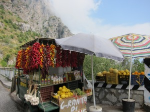 Vendor, Amalfi Coast, Italy