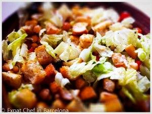 chickpea panzanella salad