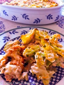 Cabbage gratin