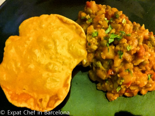 Caulifower and Potato Curry
