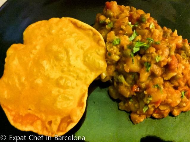 Caulifower and Potato Curry