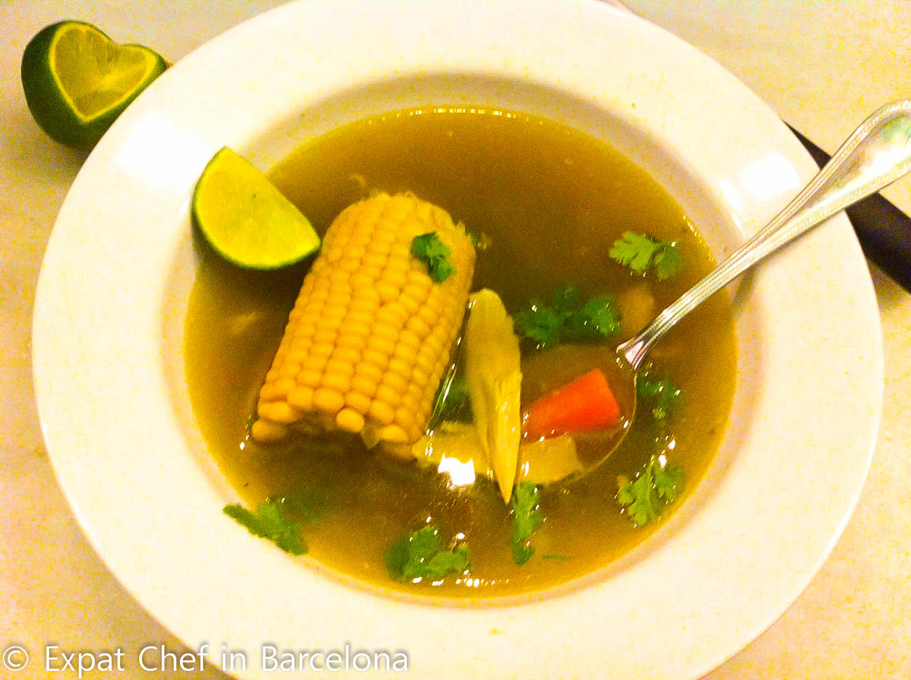 Sancocho-Soup Sancocho Colombiano: Colombian Soup « Expat Chef in ...