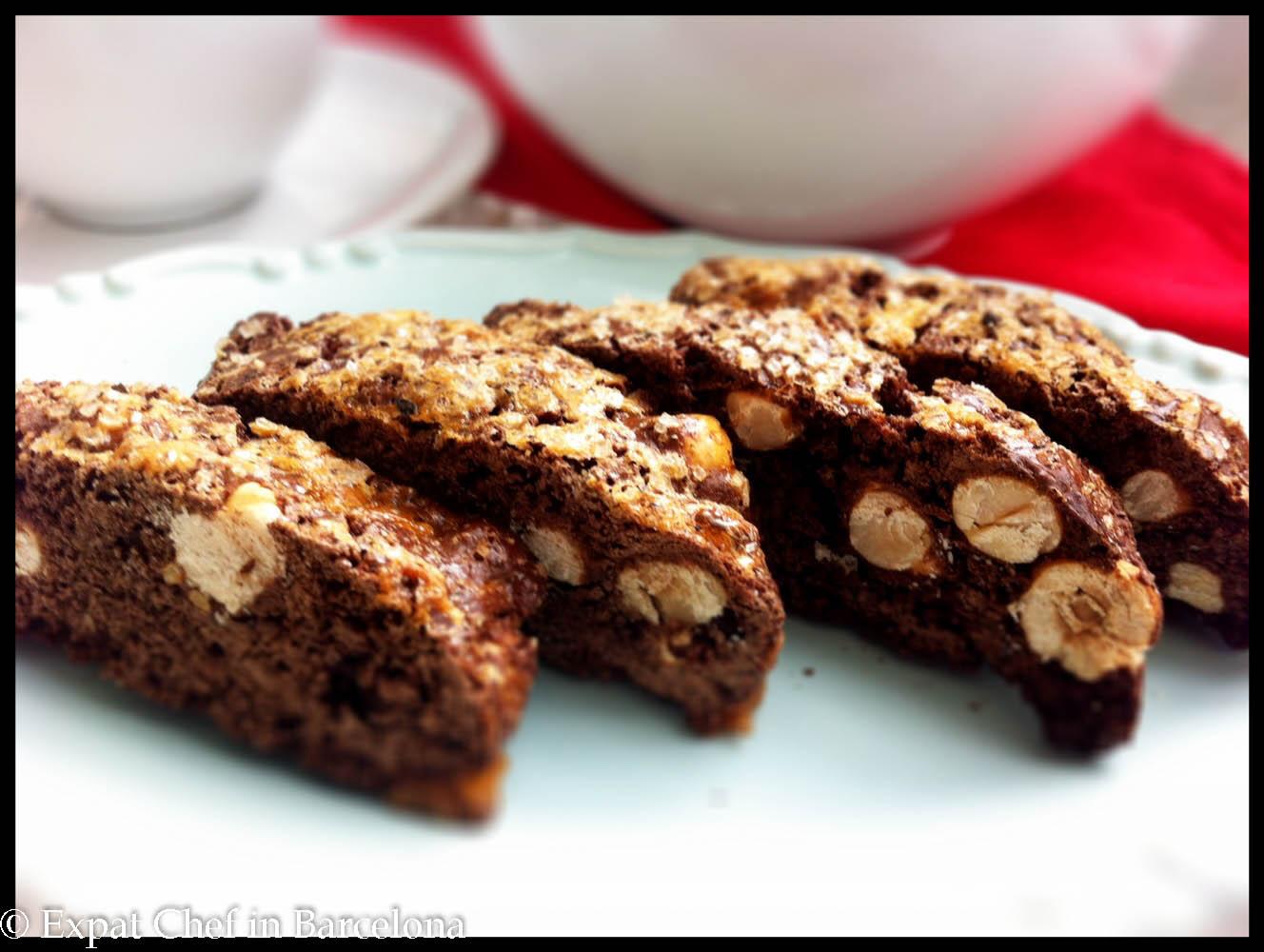 hazelnut biscotti chocolate hazelnut biscotti chocolate hazelnut ...